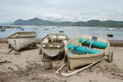 Beach boats. Stock Image