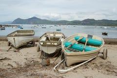 Beach boats. Stock Image