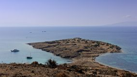 Beach of Bodrum Royalty Free Stock Image