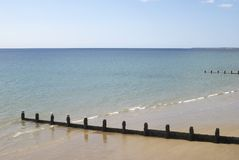 Beach at Bognor Regis. Sussex. UK Royalty Free Stock Photos
