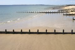Beach at Bognor Regis. Sussex. UK Royalty Free Stock Images