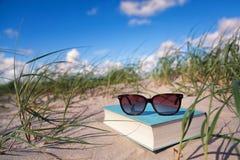 Beach_book Imagem de Stock Royalty Free