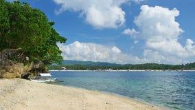 The beach in Boracay island Royalty Free Stock Photo