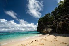 Beach in Borakay, Royalty Free Stock Images