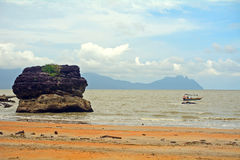 Beach, Borneo, Malaysia Stock Photos