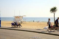 Beach, Bournemouth, Dorset. Stock Photo