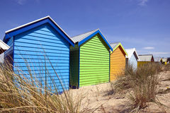 Beach Boxes Royalty Free Stock Image