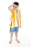 Beach boy Royalty Free Stock Image