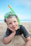 Beach boy. Royalty Free Stock Image