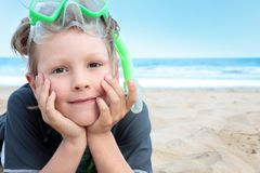 Beach boy. Stock Photography