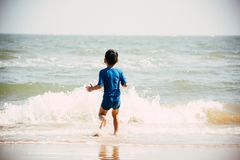 Beach, Boy, Child Royalty Free Stock Photo