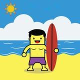 Beach boy. Royalty Free Stock Photography