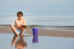 Beach boy Stock Photography