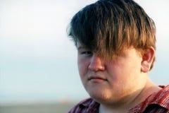 Beach Boy2. Portrait of a teenage boy stock image
