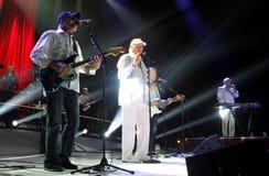 Beach Boys utför i konsert royaltyfri fotografi
