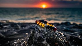 Beach, Bracelet, Landscape Stock Photo