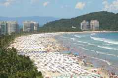 Beach in Brazil Stock Image
