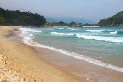 Beach in Brazil Royalty Free Stock Photo