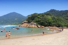 Beach in Brazil Stock Images