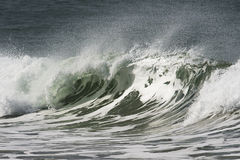 Beach break sequence Royalty Free Stock Photo