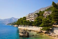 Beach at Brela, Croatia Stock Image