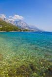 Beach at Brela, Croatia Royalty Free Stock Image