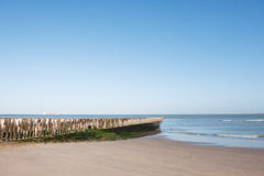 Beach of Breskens Royalty Free Stock Photography