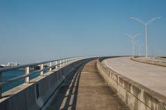 Beach, Bridge, Electricity, Empty, Royalty Free Stock Photography