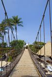 beach bridge to 库存图片