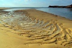 Beach in Brittany coast Stock Photo
