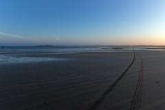 Beach in Brittany coast Royalty Free Stock Photo