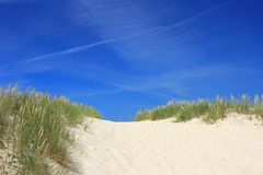 Beach in Brittany, France Stock Image