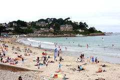 Beach in Brittany Royalty Free Stock Photography