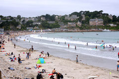 Beach in Brittany Stock Images