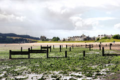 Beach at Broughty Ferry Royalty Free Stock Photography