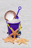 Beach Bucket Stock Image