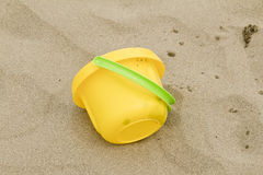 Beach bucket Stock Images