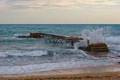 Beach of Budva Royalty Free Stock Photography