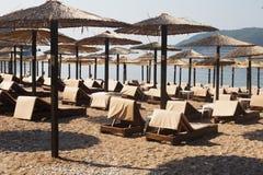 Beach in Budva, Montenegro Stock Image