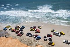 Beach buggies Stock Photography