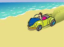 Beach buggy Royalty Free Stock Images