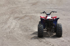 Beach Buggy. A beach buggy without a rider, on the beach sands Royalty Free Stock Image