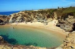 Beach Buizinhos, Porto Covo Stock Image