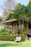 Beach bungalow Royalty Free Stock Photography
