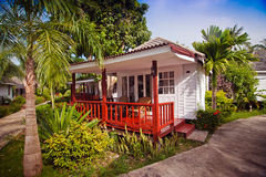 Beach bungalow Royalty Free Stock Photo