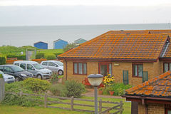 Beach Bungalow Stock Photo