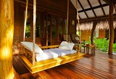 Free Beach Bungalow - Maldives Stock Photography - 48883202