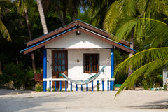 Beach bungalow , Thailand . Stock Image