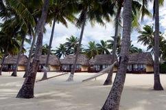 Beach Bungalows Royalty Free Stock Photos