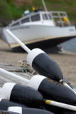 Beach Buoys Stock Photo